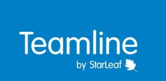 Teamline by starleaf logo