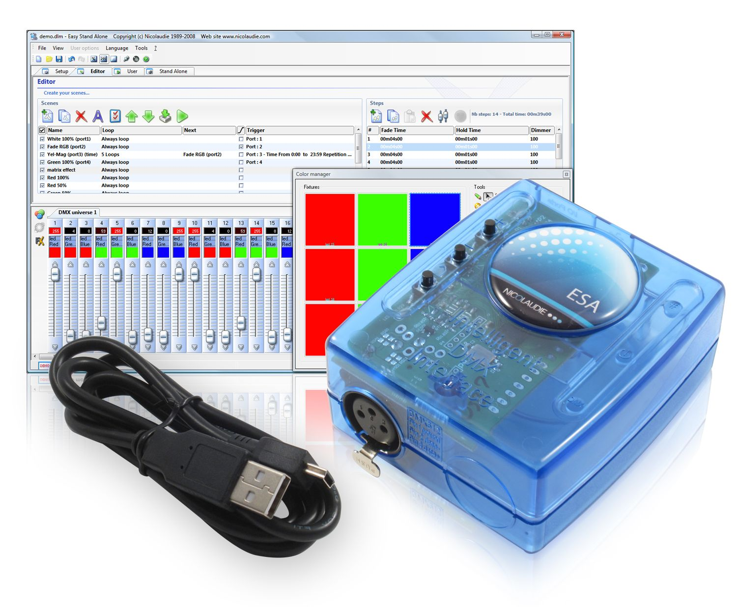 List of Top DMX Lighting Control Software - Proche