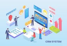 CRM System Illustration