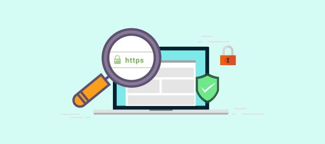 HTTPS illustration image