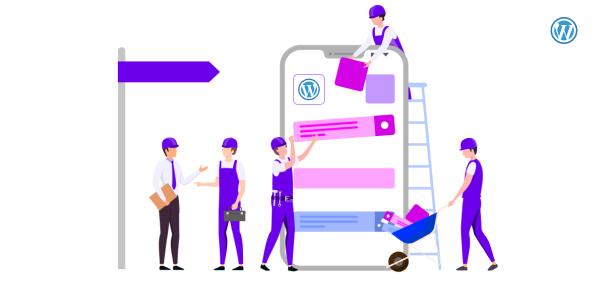 Building WordPress website