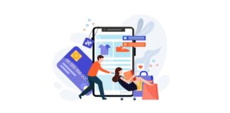 E commerce illustration