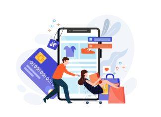 E commerce illustration