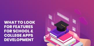 school app features