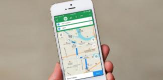 Maps.me mobile app