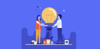 Start a business illustration