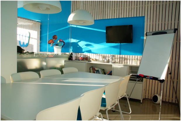 Customisation of office space