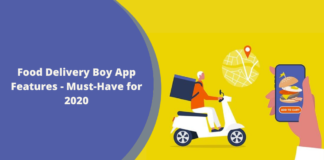 Food Delivery Boy App Features