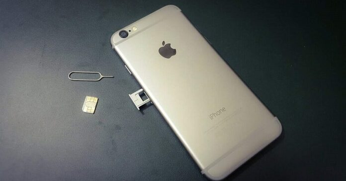 Sim Card in iphone