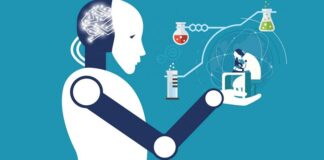 AI Healthcare illustration