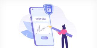 e-signature illustration