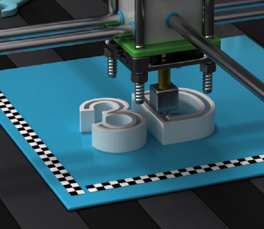 3D printing illustration