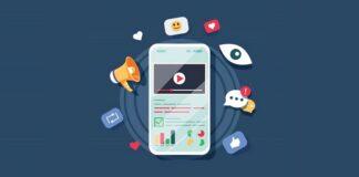 Video marketing illustration