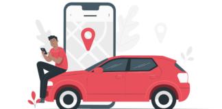 Automobile gadgets illustration image