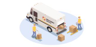 Loading service illustration