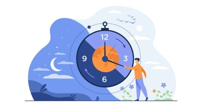 man-moving-clock-arrows-managing-time