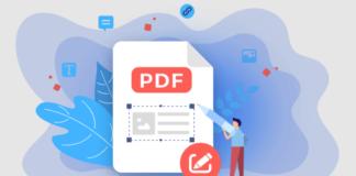 PDF editor illustration