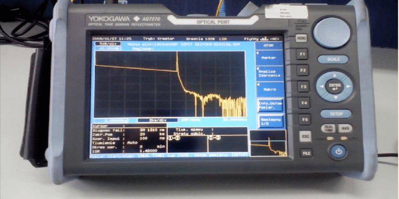 OTDR test equipment