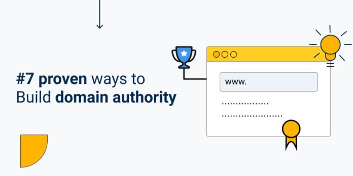 Build domain authority illustrative image