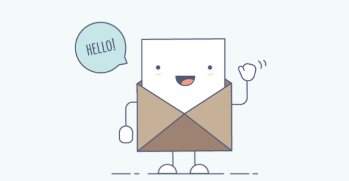 Welcome email illustration