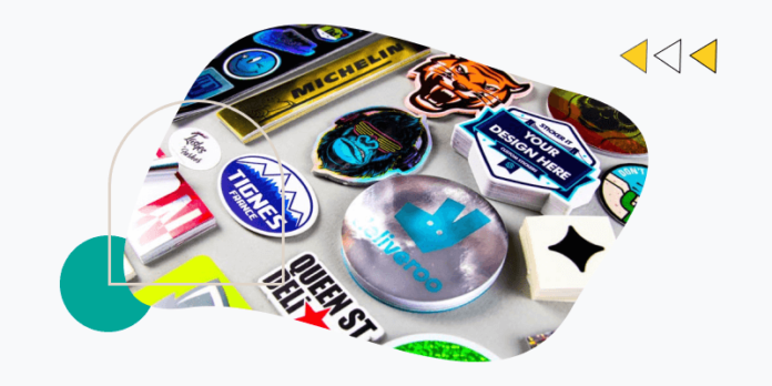 Stickers for branding