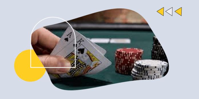 Playing blackjack online