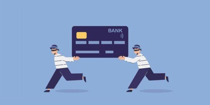 Credit card theft illustration